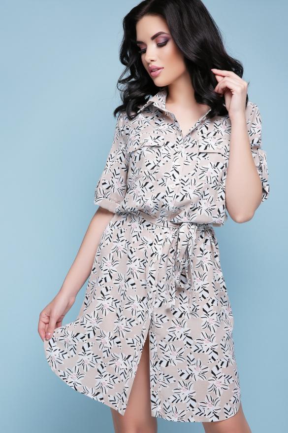 Платье-рубашка Стамбул