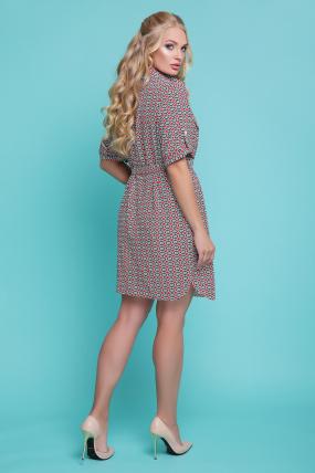 Сукня - рубашка Стамбул (жовтий) 1081