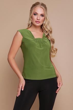 Блуза Стрекоза (зелёный) 1116