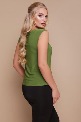 Блуза Стрекоза (зелёный) 1117