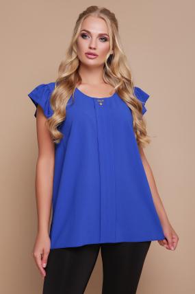 Блуза Тюльпан (синій) 1121