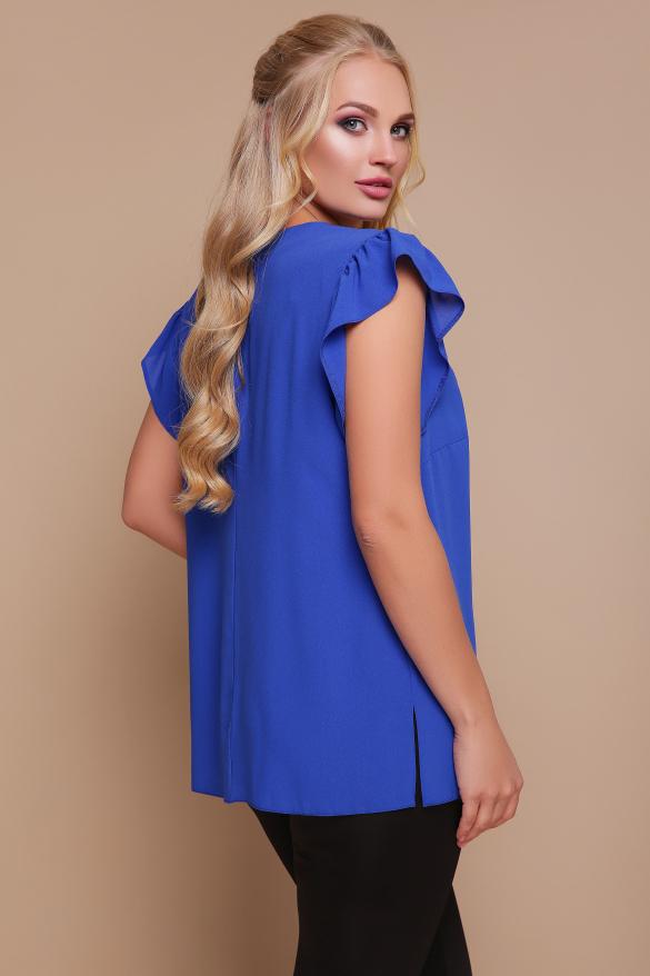 Блуза Тюльпан (синій)