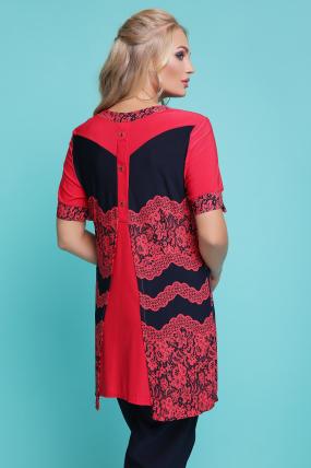 Блуза Тюльпан (кораловий) 1131