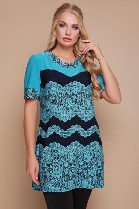 Блуза Тюльпан (кораловий) 1140