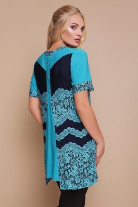 Блуза Тюльпан (кораловий) 1141