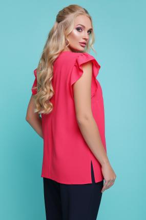 Блуза Тюльпан (коралловый) 1147