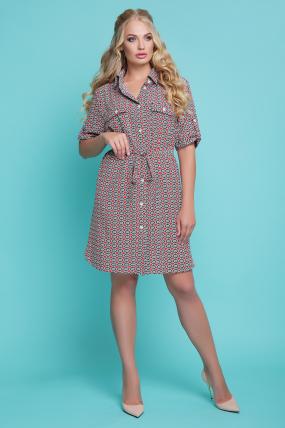 Платье - рубашка Стамбул  1162
