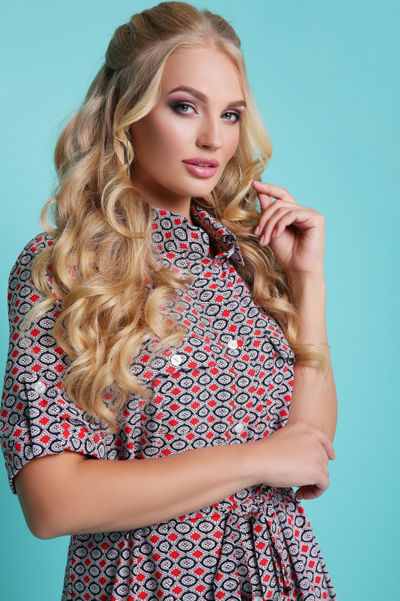 Сукня - рубашка Стамбул (жовтий)