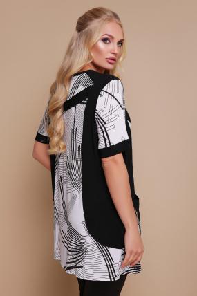 Блуза Тюльпан (кораловий) 1184