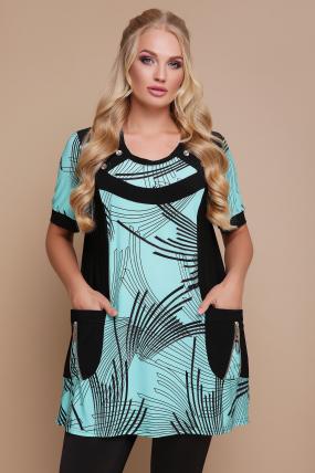 Блуза Тюльпан (кораловий) 1185