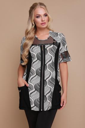 Блуза Тюльпан (кораловий) 1193