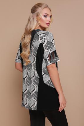 Блуза Тюльпан (кораловий) 1194