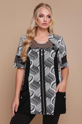 Блуза Тюльпан (кораловий) 1195