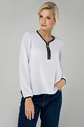 Блузка Інга білий