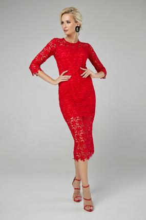 Сукня Моніка червоний