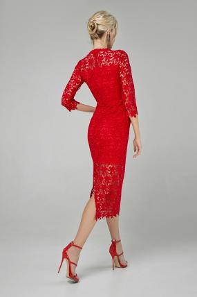Сукня Моніка червоний 1347