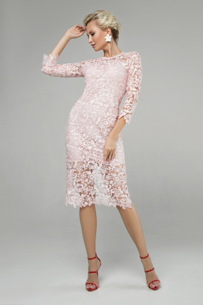 Сукня Моніка персик 1361