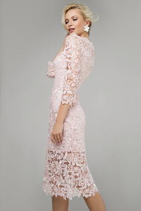 Сукня Моніка персик 1362