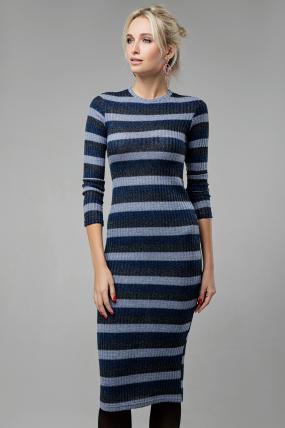 Платье Перло синий 1402