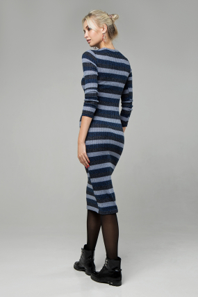Платье Перло синий 1403