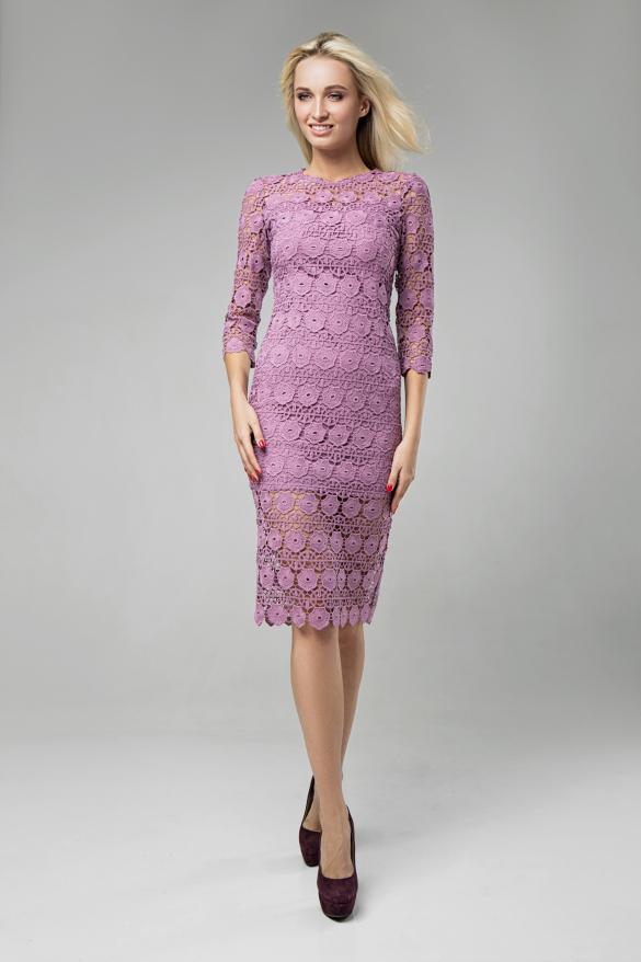 Платье Моника розовый