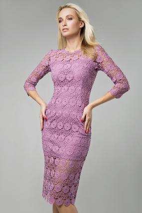 Платье Моника розовый 1414