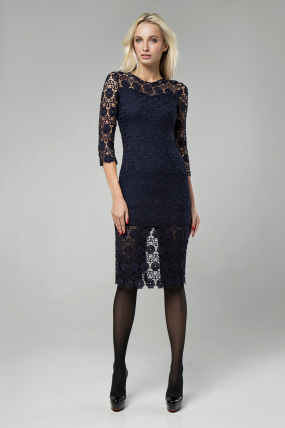 Сукня Моніка синій