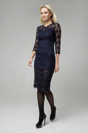 Платье Моника синий 1417