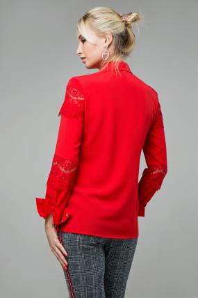 Блузка Маргарита червоний 1422