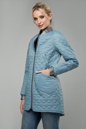 Куртка В 121 блакитна