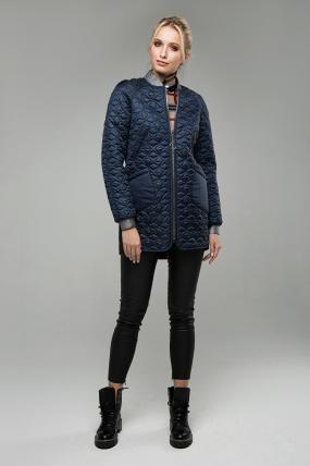 Куртка В 121 темно-синій