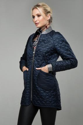 Куртка В 121 темно-синій 1562