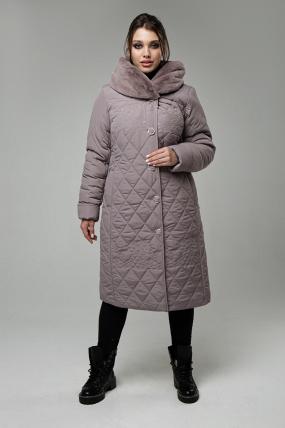 Пальто Роза пудра 1566