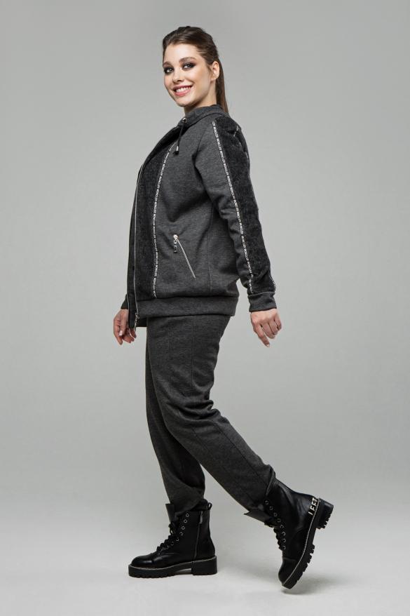 Спортивний костюм Москіно графіт