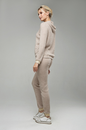 Спортивный костюм 007 бежевый  1576