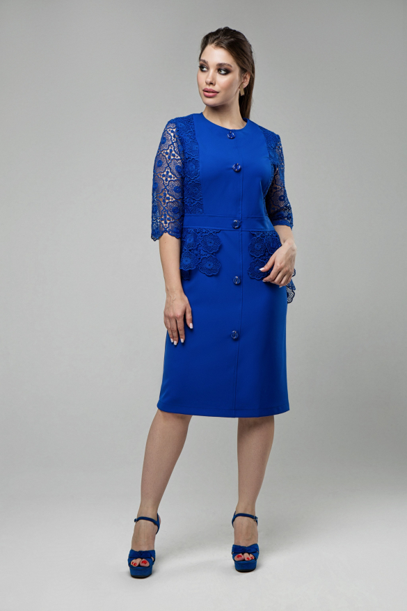 Жіноча сукня Дарина електрик