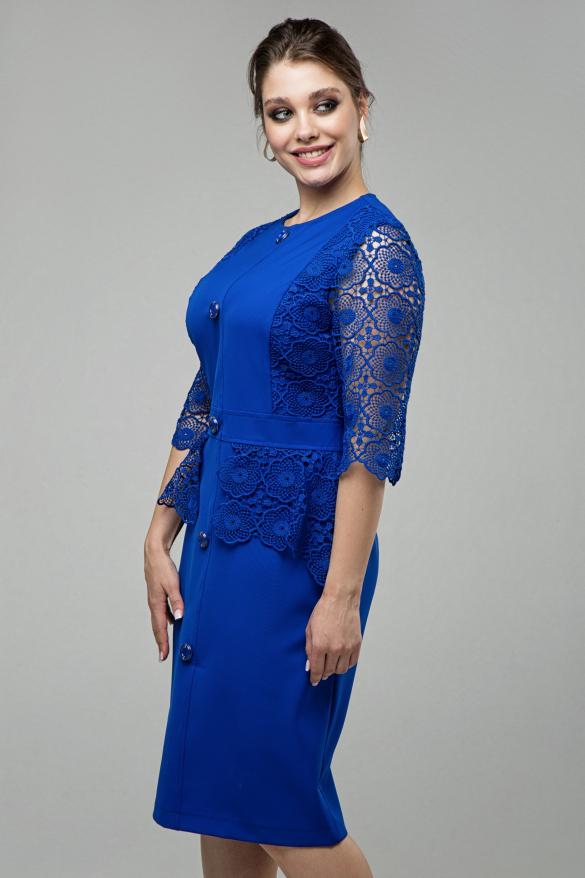 Женское платье Дарья электрик