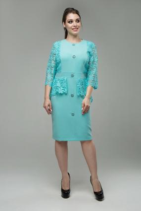 Женское платье Дарья мята
