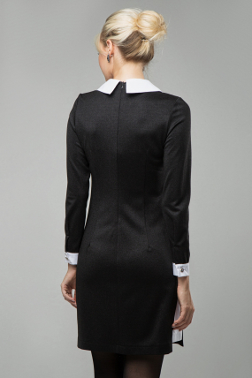 Платье Кетти черный 1592