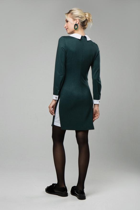 Платье Кетти изумрудный