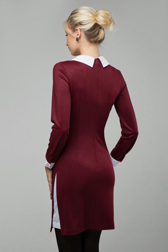 Платье Кетти марсала