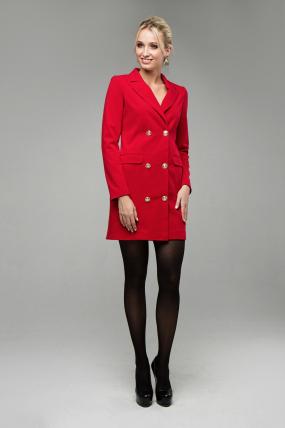 Сукня Венеція червоний 1618