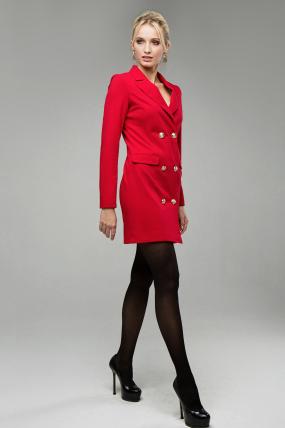 Сукня Венеція червоний 1619