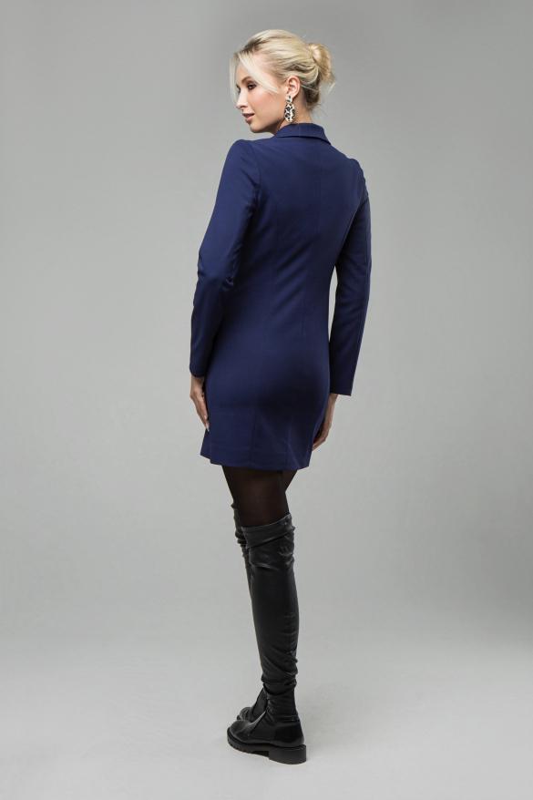 Платье Венеция темно-синий