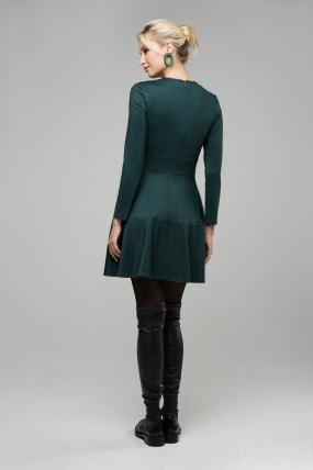 Платье Тая изумрудный