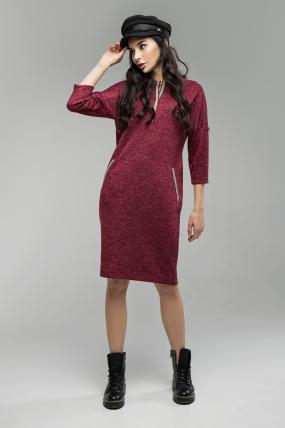 Сукня Ліза марсала 1653