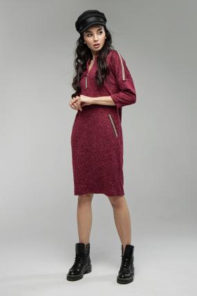 Сукня Ліза марсала 1654