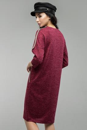 Сукня Ліза марсала 1655