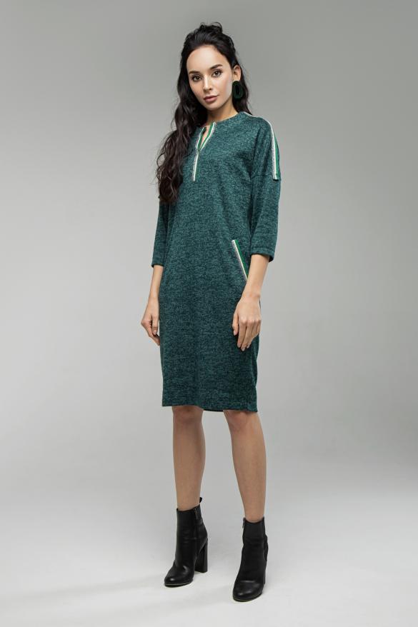 Платье Лиза изумрудній