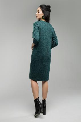 Платье Лиза изумрудній 1658